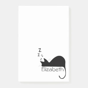 307x307 Sleeping Cat Illustration Office Products Amp Supplies Zazzle