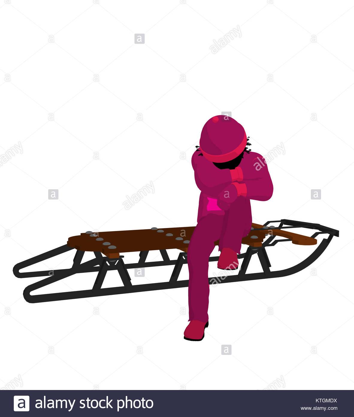 Sleigh Ride Silhouette