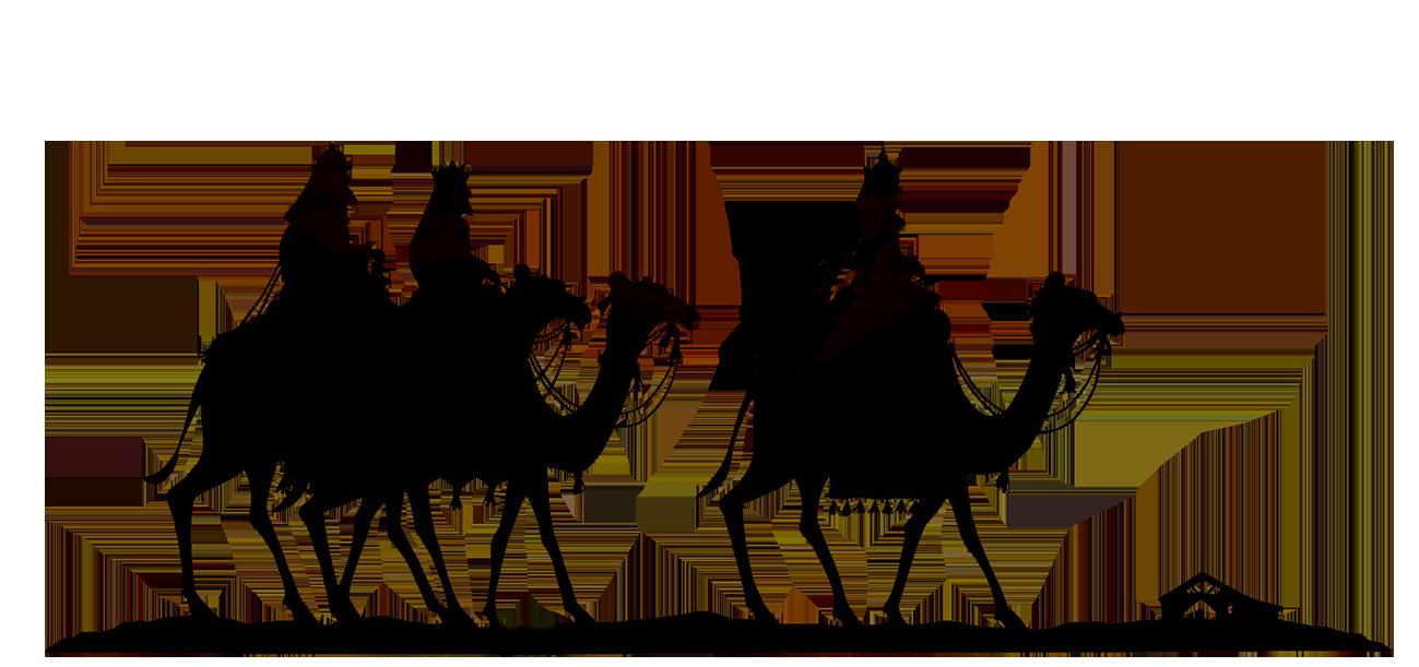 1299x611 Christmas Silhouettes