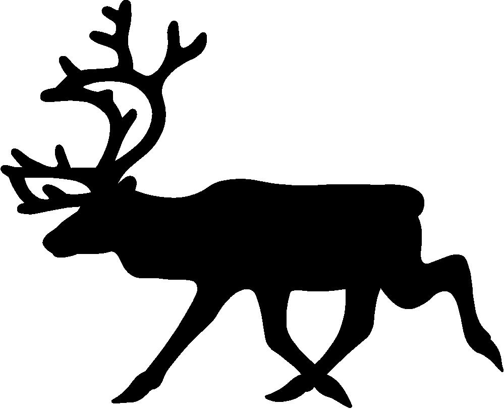 999x810 Sleigh Clipart Vector
