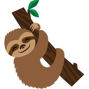 sloth silhouette at getdrawings com free for personal use sloth rh getdrawings com sloth clipart images sloth clipart outline