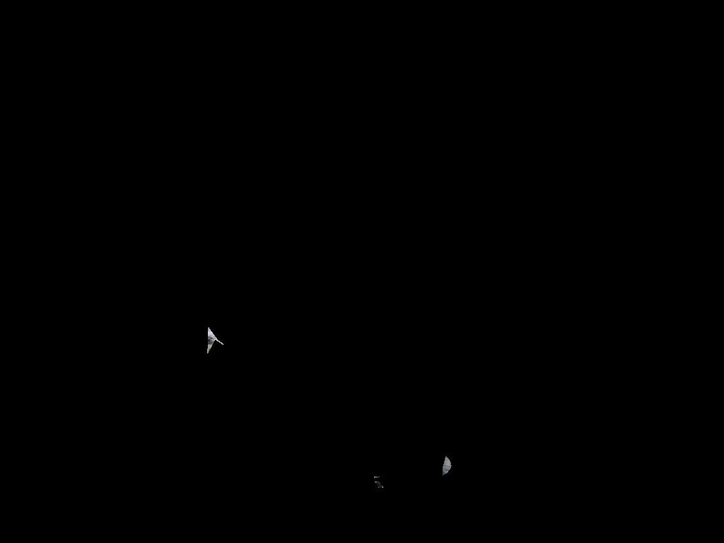 1024x768 Sloth Silhouette