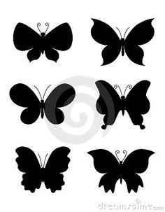 236x303 Small Solid Black Butterfly Tattoo Tiny Black Butterfly Tattoo