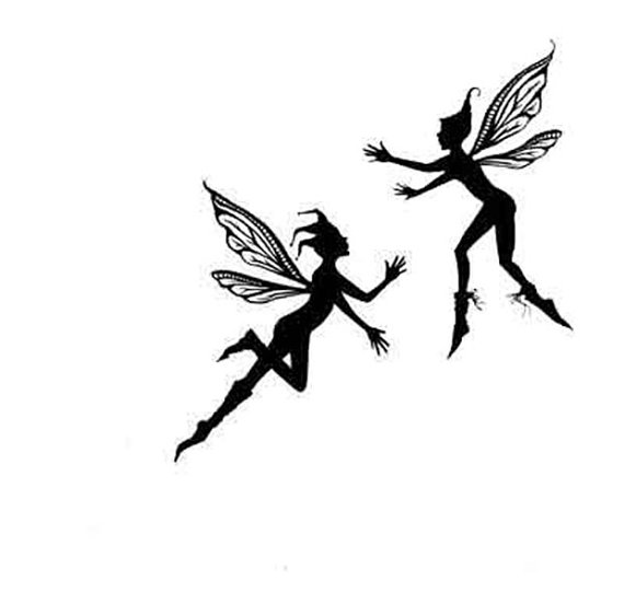 570x552 Lavinia Small Pixies Stamp Pixies Fairy Stamp Clear Stamp
