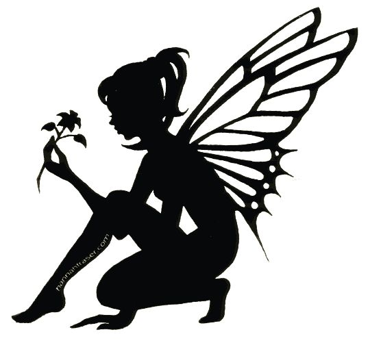 537x501 Luxurious And Splendid Fairy Silhouette Clip Art Free 9 Best