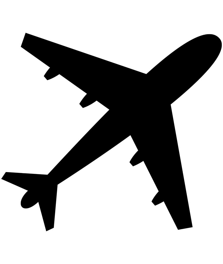 Small Plane Silhouette