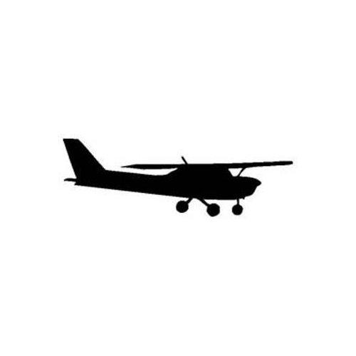 500x500 Cessna 150 Silhouette Vinyl Stickerdecal (Flyong