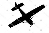 200x135 Top Plane Silhouette Images
