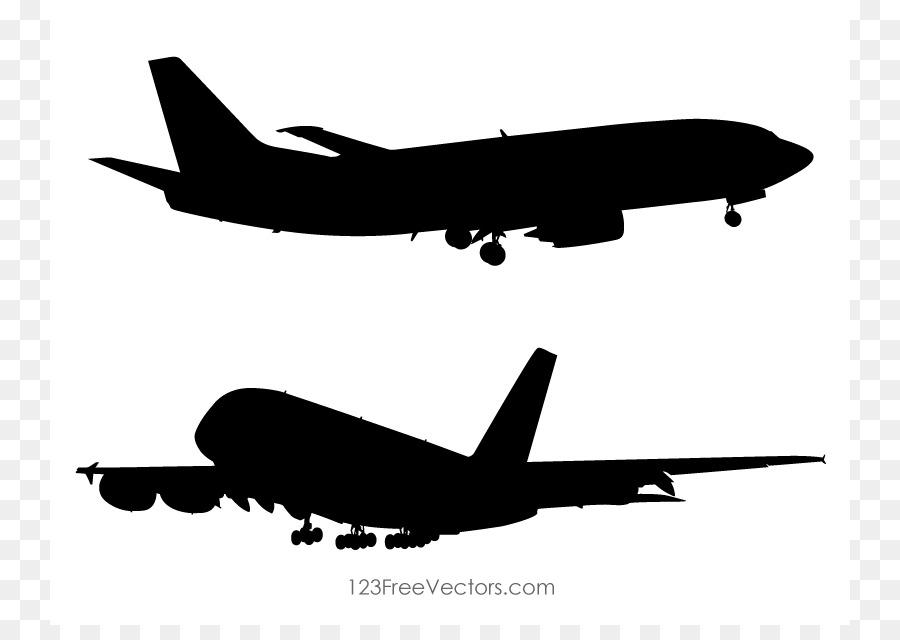 900x640 Airplane Silhouette Clip Art