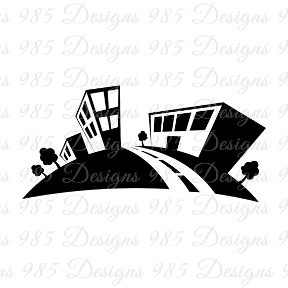 570x570 Small Town Curve Road Svg For Cricut By 985 Graphic Designs On Zibbet