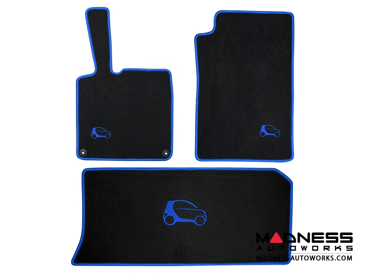 750x563 Smart Fortwo 451 Custom Floor Mats And Cargo Area Mat By Luxus