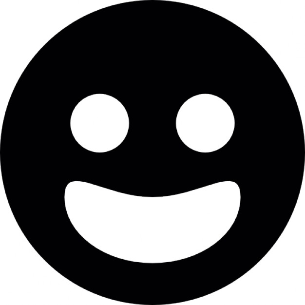 626x626 Smiling Circular Face For Facebook Icons Free Download