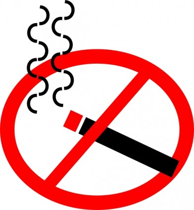 392x425 Dont Smoke Clipart Collection