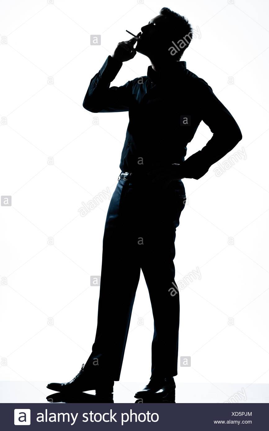 867x1390 Profile Elegant Man Smoking In Stock Photos Amp Profile Elegant Man