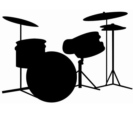 Snare Drum Silhouette