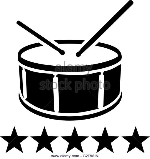 509x540 Drums Kit Silhouette Black And White Stock Photos Amp Images