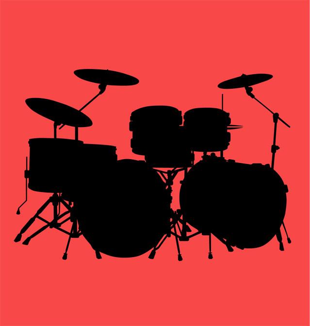 639x672 Pix For Drums Silhouette Clip Art