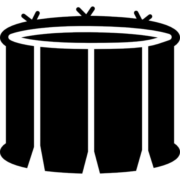 626x626 Snare Drum With White Lines Icons Free Download