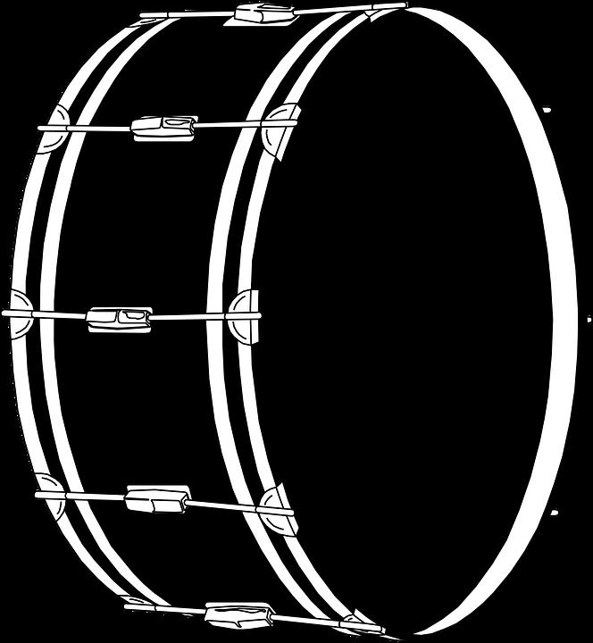 664x720 Drawn Instrument Rock Drummer