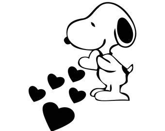 340x270 Snoopy Vector Etsy