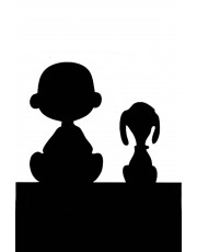 180x230 Charley Snoopy Silhouette.jpg Silhouettes