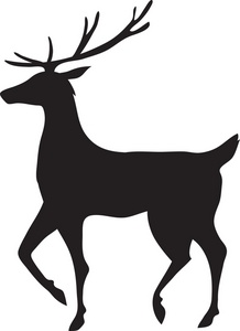 218x300 Free Reindeer Clipart Image Reindeer Silhouette Svg Cut Files