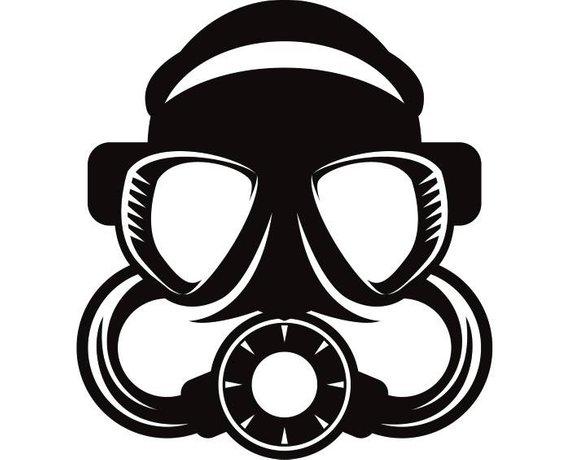 570x460 Scuba Diving Mask 1 Air Regulator Goggles Snorkel Snorkeling