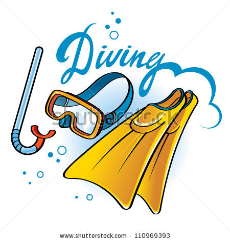 450x470 Diving Clipart Snorkeling Gear