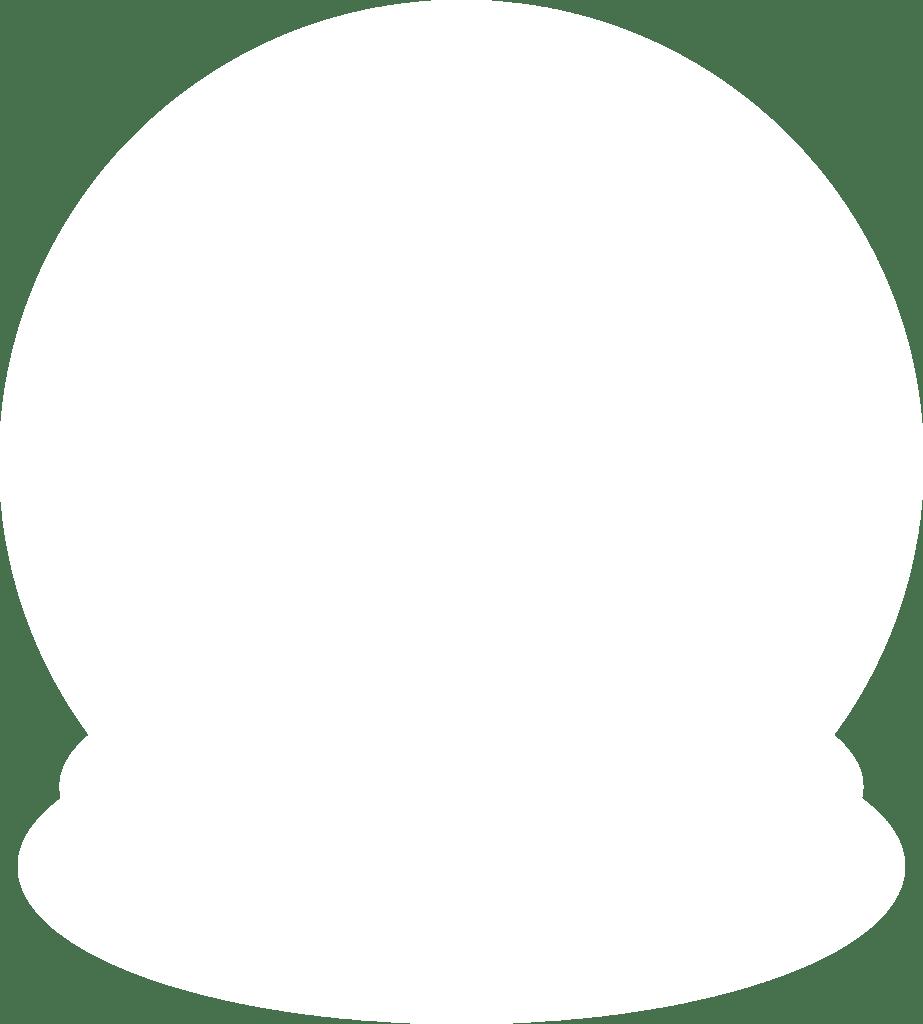 923x1024 Snow Globe Silhouette By Paperlightbox