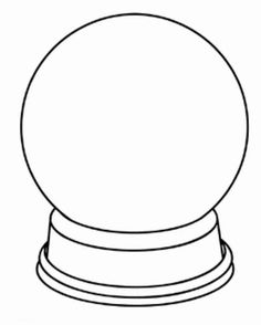 236x294 Coloring Pages Snow Globe