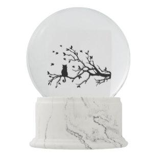 307x307 Cat Lover Snow Globes Zazzle