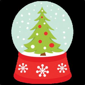 300x300 Christmas Tree Snow Globe Svg My Miss Kate Cuttables
