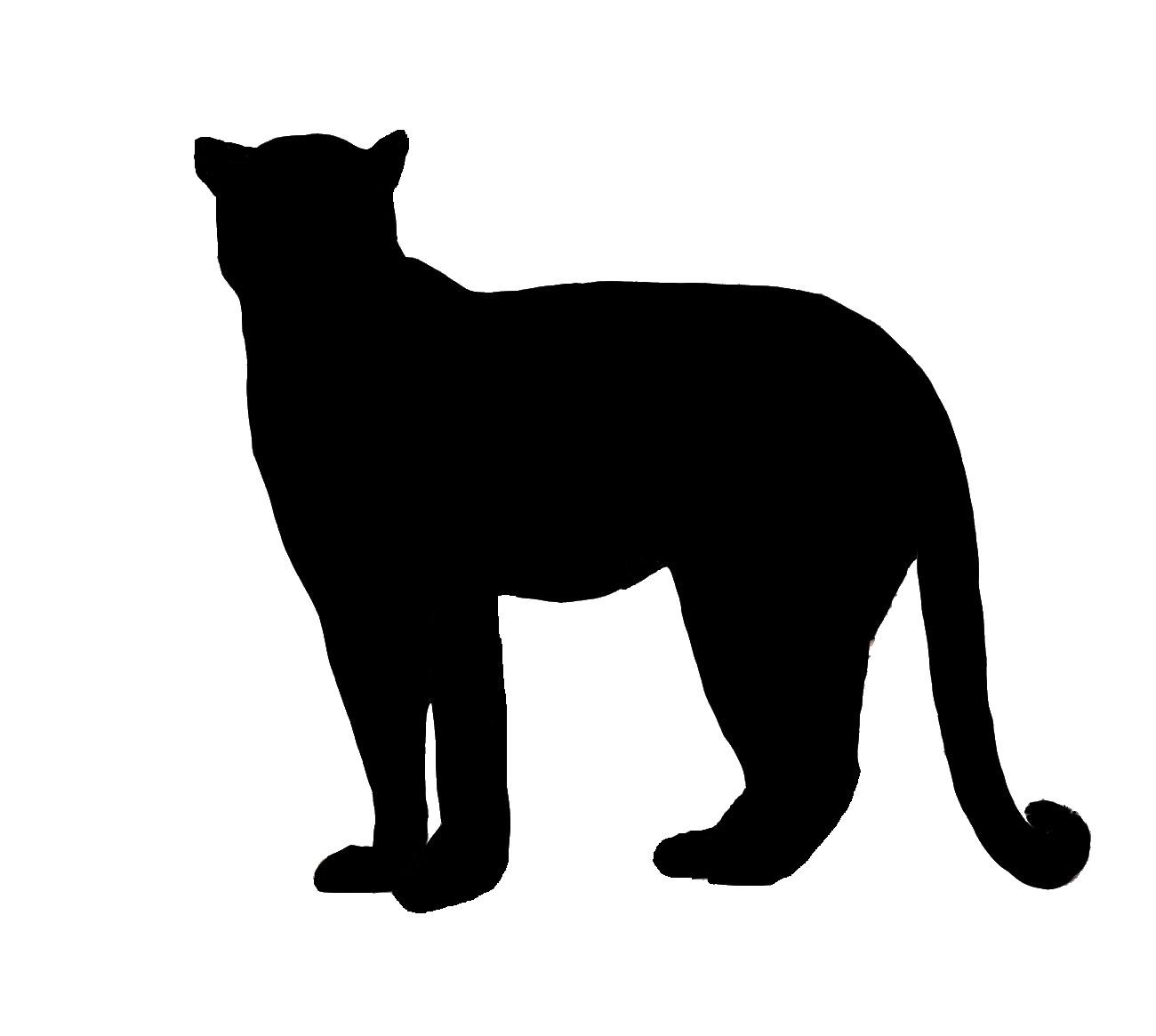 1300x1165 Leopard Head Silhouette