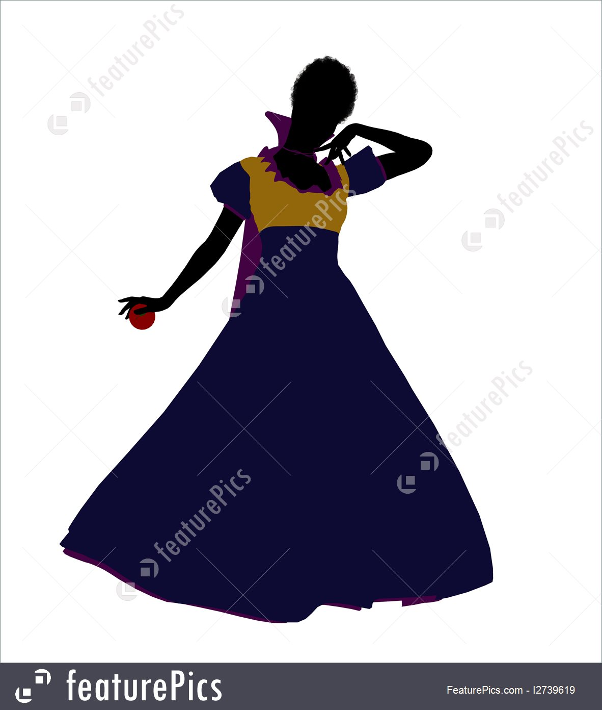 1182x1392 Silhouettes And Outlines Snow White Silhouette