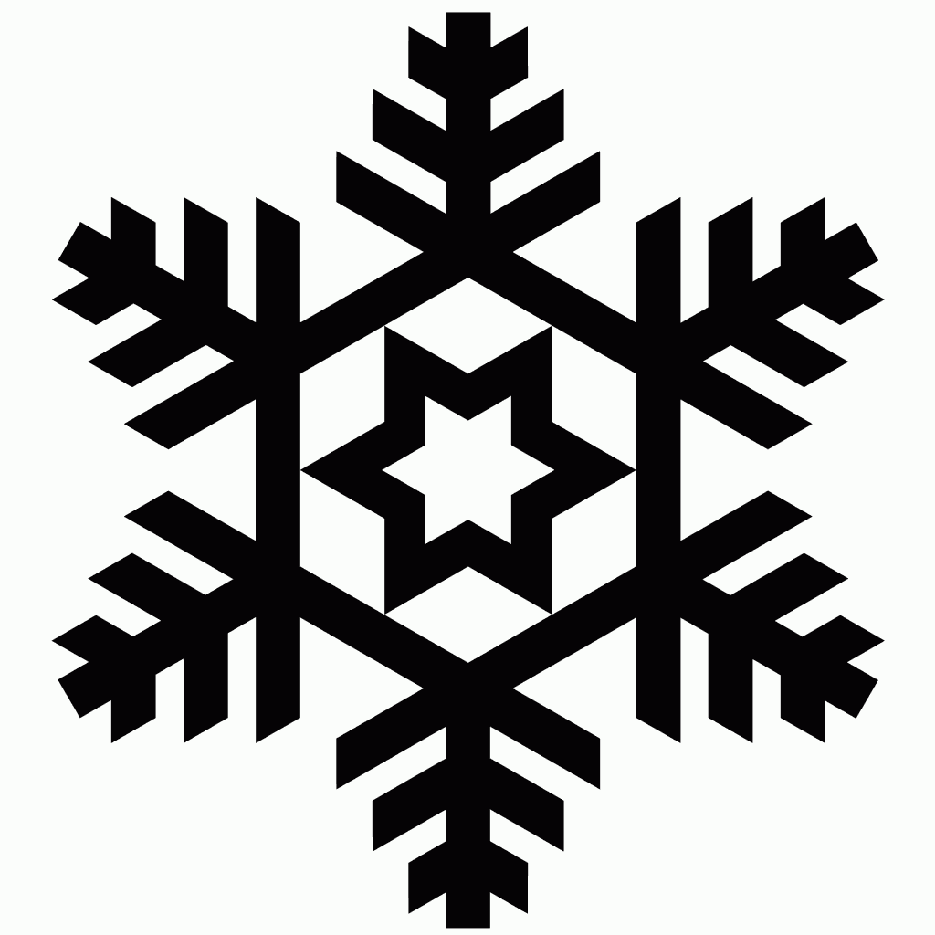1024x1024 Christmas Snow Forme File Format, Silhouettes