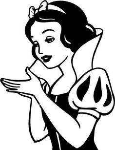 236x307 Snow White Sillouhuet Birthdaykassiegirl Snow