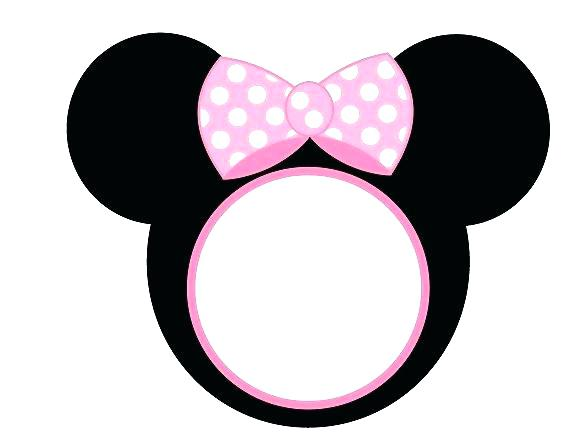 580x448 Mickey Mouse Head Silhouette With Printable Mickey Mouse Head