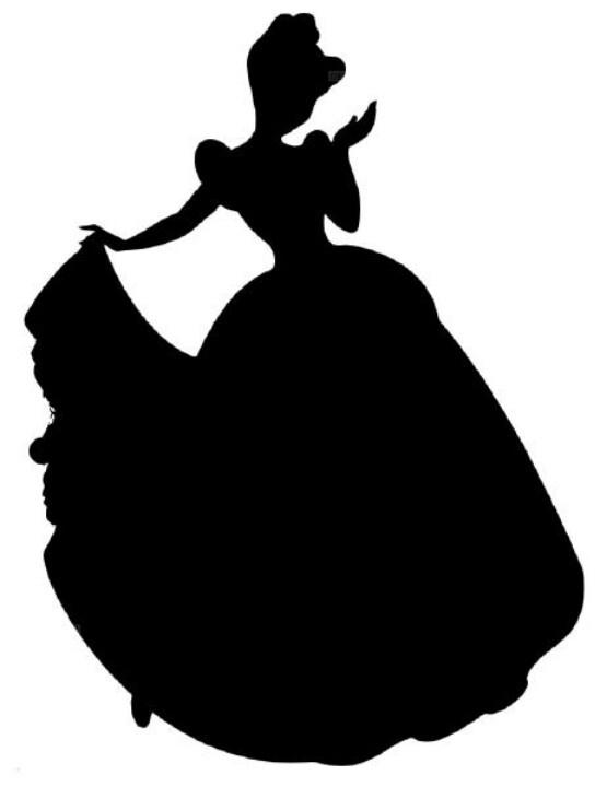 picture regarding Disney Silhouette Printable named Snow White Silhouette Printable at  Absolutely free