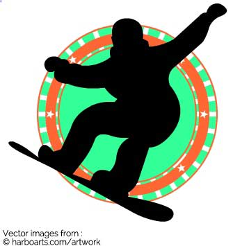 335x355 Download Snowboarder Emblem