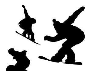 300x233 Snowboarder Vector Illustration Free Vectors Ui Download