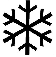 236x243 Snowflake Silhouette Png Image