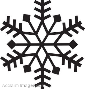 286x300 Clipart Of A Snowflake