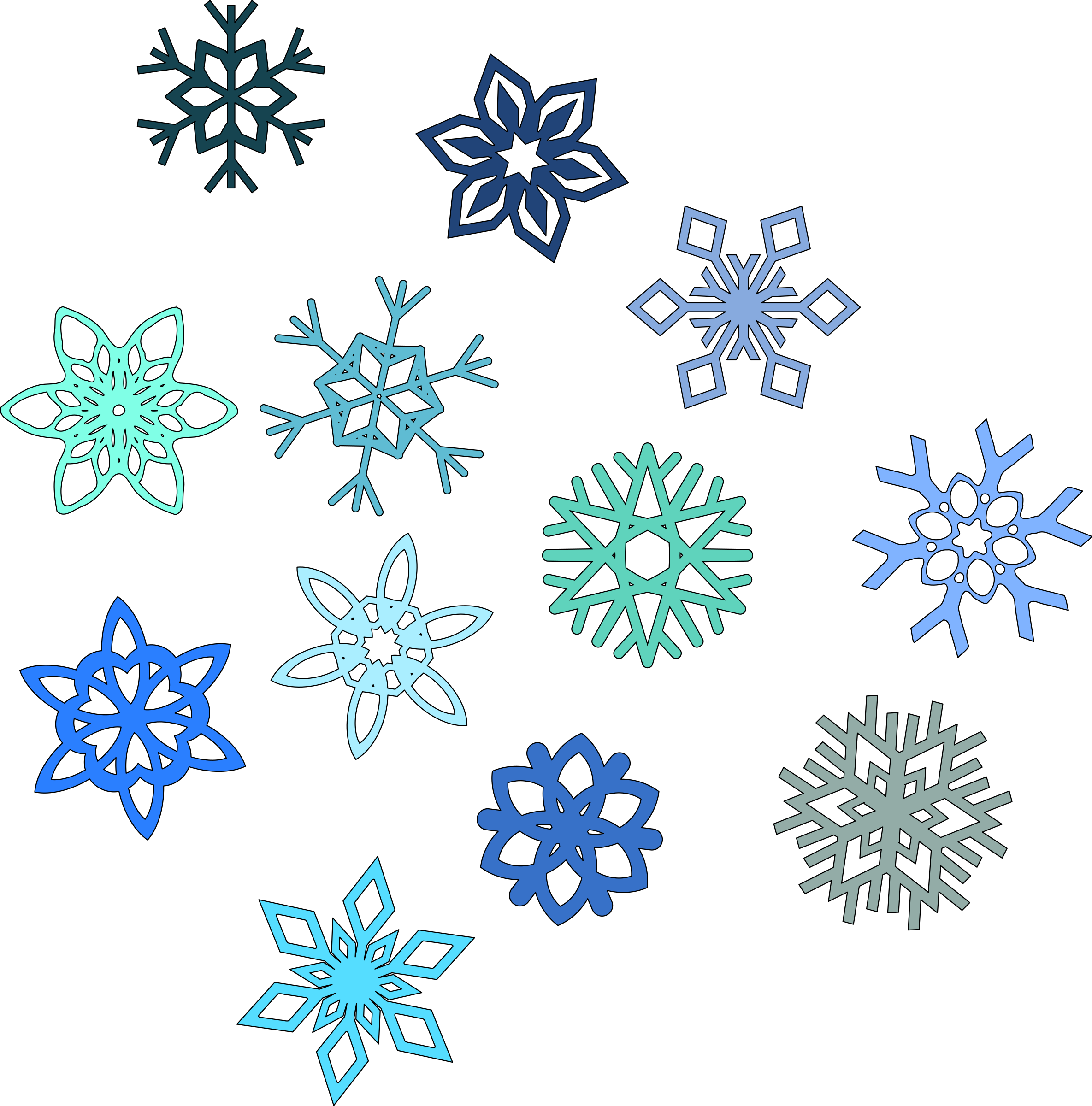 snowflake silhouette clip art at getdrawings com free for personal rh getdrawings com  snowflake picture clipart