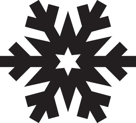 460x417 Simple Snowflake Silhouette Scrapheap