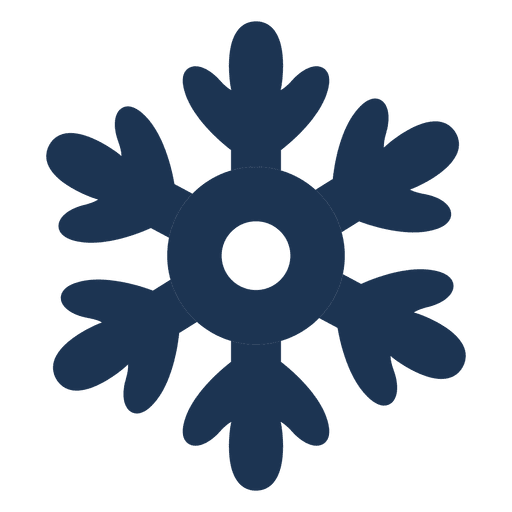 512x512 Snowflake Silhouette Icon 63