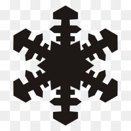 260x260 Free Download Snowflake Black And White Clip Art