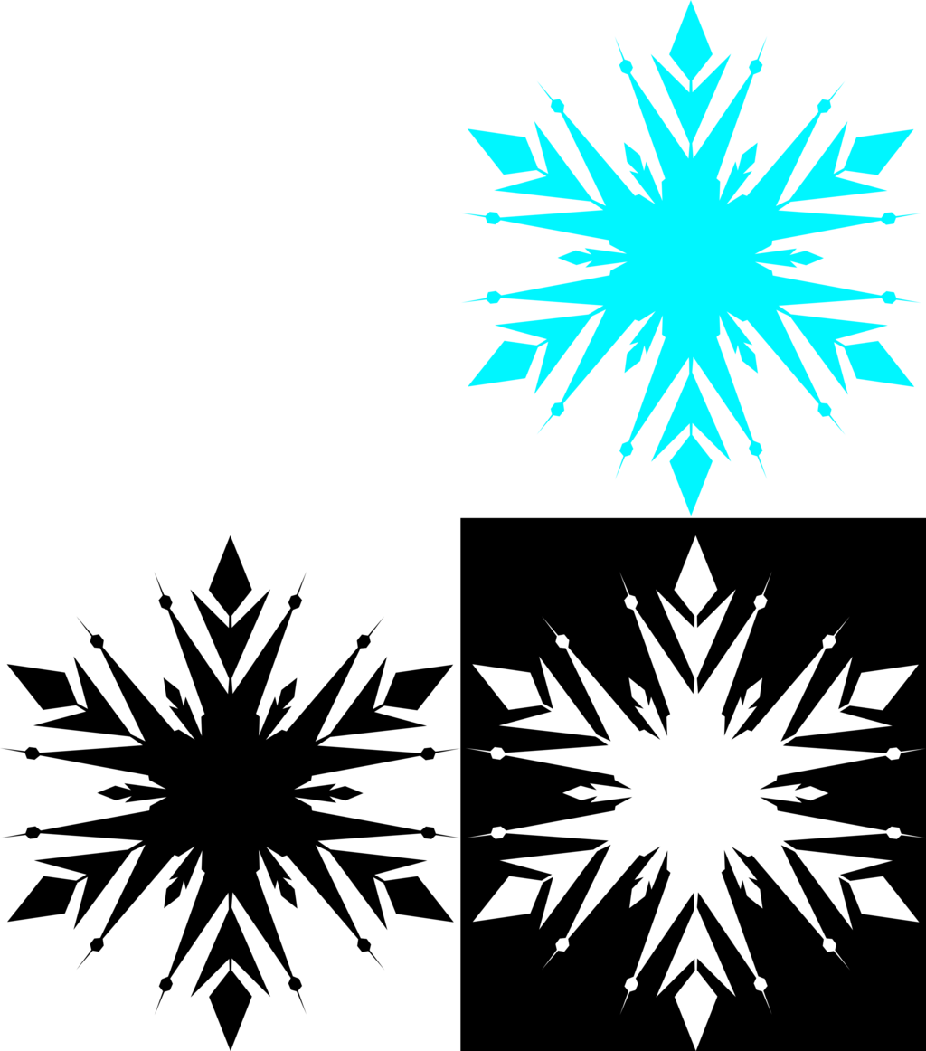 snowflake silhouette vector at getdrawings com free for personal rh getdrawings com snowflake vector art free snowflake background vector art free