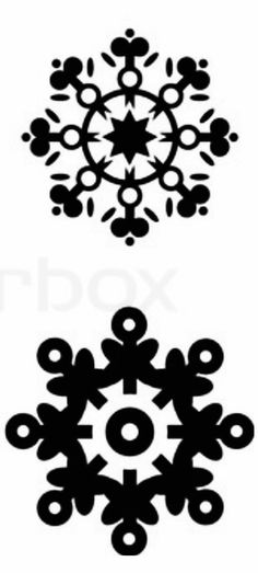 236x523 Izzaboutchu! Snowflake Silhouettes, Vectors, Clipart, Svg