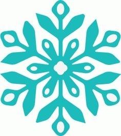 236x266 Frozen Snowflake Silhouette Best Bussines Template