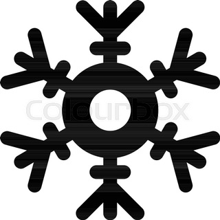 320x320 Snowflake Christmas And New Year Seamless Pattern Vector